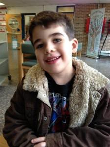Noah Pozner, 6, one of 20 children murdered on Dec. 14, 2012, at Sandy Hook Elementary School in Newtown, Connecticut.