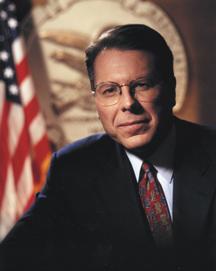 Wayne LaPierre, executive vice president of the National Rifle Association.