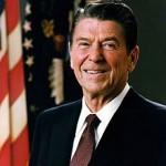 President Ronald Reagan.