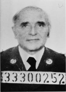 Nazi SS officer Klaus Barbie.