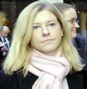 Former British intelligence officer Katharine Gun. (Photo credit: BBC)