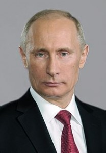 Russian President Vladimir Putin, the target of much U.S. media criticism around the Sochi Olympics.