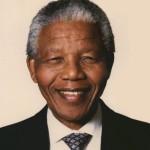 South African leader Nelson Mandela.