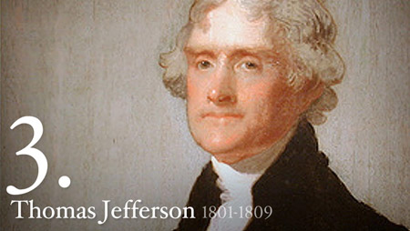 Thomas jefferson presidency