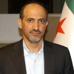 Syrian opposition leader Ahmad al-Jarba.