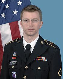 U.S. Army Pvt. Chelsea (formerly Bradley) Manning.