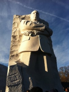 Martin Luther King Jr. memorial in Washington, DC.