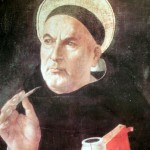 St. Thomas Aquinas, a theologian of the Thirteenth Century.