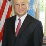 Yukiya Amano, director general of the International Atomic Energy Agency.