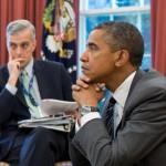 President Barack Obama and White House C