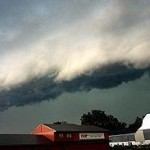 "Fierce storms like this ""derecho"" are expected to become more common due to global warming."