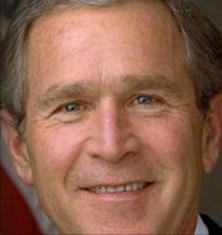 President George W. Bush.