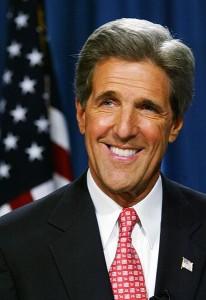 Secretary of State John Kerry.
