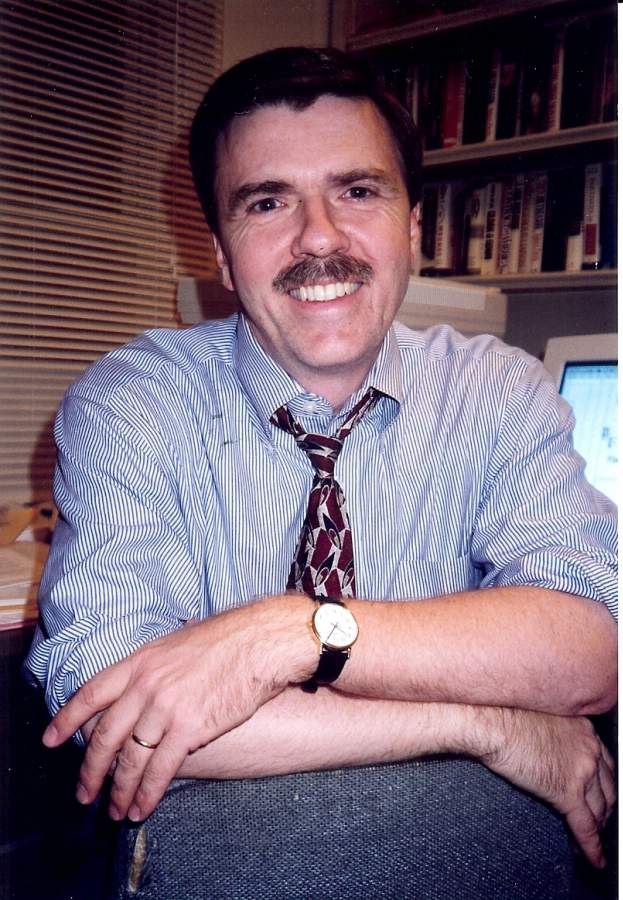 Journalist Robert Parry.