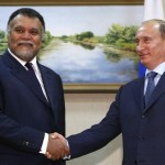 Prince Bandar bin Sultan, Saudi Arabia's intelligence chief, meeting with Russian President Vladimir Putin.
