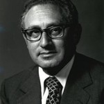 Henry Kissinger, former National Security Advisor and Secretary of State.