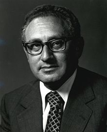 Henry Kissinger, former National Security Advisor and Secretary of State.