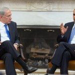 President Barack Obama and Prime Minister Benjamin Netanyahu of Israel hold a bilateral meeting in the Oval Office, Sept. 30, 2013.(Official White House Photo by Pete Souza)