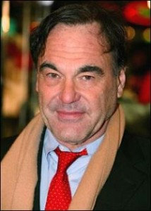 Writer-director Oliver Stone.