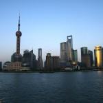 The skyline of Shanghai, China. [Photo credit: Carl Lovén on Flickr]