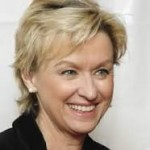 Tina Brown, former editor of Vanity Fair, The New Yorker and Newsweek.