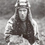 Thomas Edward Lawrence, better known as Lawrence of Arabia, a British intelligence officer who recruited Bedouin tribesmen during World War I.