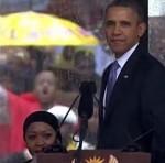President Obama Speaks at a Memorial Service for Nelson Mandela on Dec. 10, 2013. (White House photo)