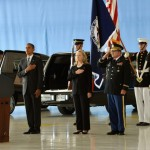 President Barack Obama and Secretary of State Hillary Clinton honor the four victims of the