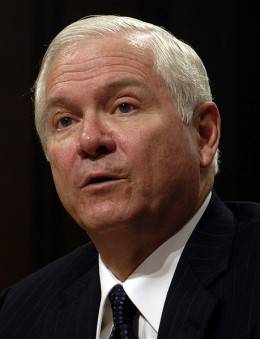 Former CIA Director (and later Defense Secretary) Robert Gates.