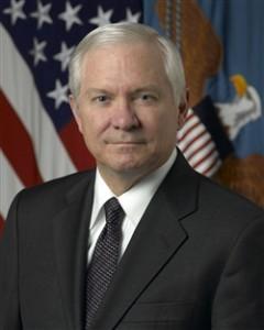Former Defense Secretary Robert Gates.