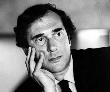 Playwright HaroldPinter. (Photo credit: Huntington Theatre Company)