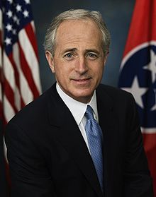 Sen. Bob Corker, R-Tennessee, who is seeking a disapproval vote on any agreement that the Obama administration negotiates with Iran over its nuclear program.