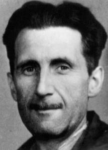 Author George Orwell.