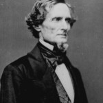 Confederate President Jefferson Davis.