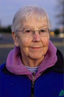 Sister Megan Rice, one of the three Transform Now Plowshares activists sentenced to prison for a symbolic protest at the Oak Ridge nuclear facility in Tennessee.
