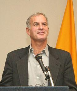 Author and academic Norman Finkelstein. (Photo credit: Miguel de Icaza)