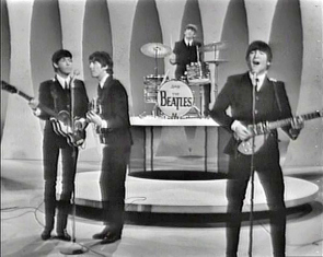"The Beatles on the ""Ed Sullivan Show."""