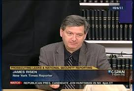New York Times national security reporter James Risen.