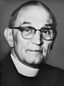 German anti-Nazi theologian Martin Niemoller.