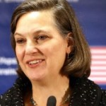 Assistant Secretary of State for European and Eurasian Affairs Victoria Nuland during a press conference at the U.S. Embassy in Kiev, Ukraine, on Feb. 7, 2014. (U.S. State Department photo)