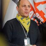 Ukrainian Secretary for National Security Andriy Parubiy.