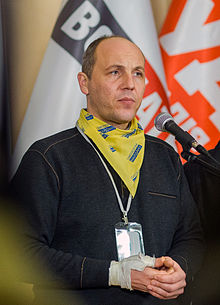 Ukrainian Secretary for National Security Andriy Parubiy.