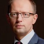 Ukraine's acting Prime Minister Arseniy Yatsenyuk. (Photo credit: Ybilyk)