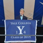 U.S. Secretary of State John Kerry addresses Yale University graduates on Class Day in New Haven, Connecticut, on May 18, 2014. Kerry himself is a 1966 Yale graduate. (State Department photo)
