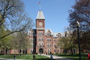 Ohio State University's University Hall.