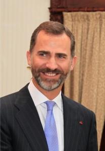 Spain's King Felipe VI.