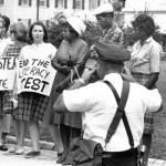 Voting rights activists in Mississippi during Freedom Summer in 1964.