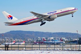 A Malaysia Airways' Boeing 777 like the one that crashed in eastern Ukraine on July 17, 2014. (Photo credit: Aero Icarus from Zürich, Switzerland)