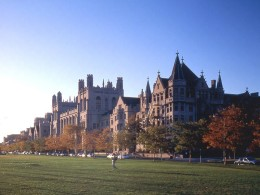 A scene at the University of Chicago.