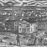 Freedman's Village as it appeared in Harper's Weekly in May 1864.